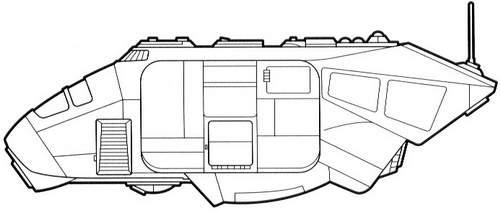 A-A5 heavy speeder truck