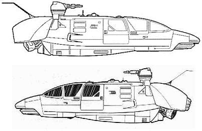 Arrow-23 transport landspeeder